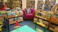 Åkarps bibliotek - barnavdelningen